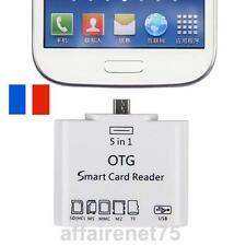Adaptateur 5 en 1 OTG Micro USB MS MMC TF SD lecteur de carte mémoire