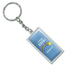 I Can Cook Noodles Shooting Star Funny Humor Rectangle Metal Keychain