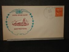 USS LEA DD-118 Naval Cover 1941 DESTROYER Cachet