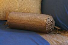 NEW Custom Ralph Lauren Indigo Bali Neck Roll Pillow Neckroll