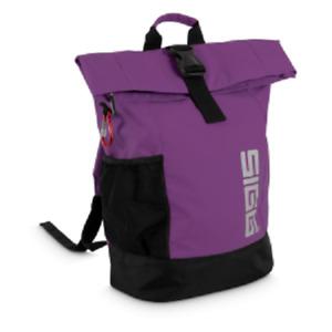 SIGG Rolltop Backpack Medium Rucksack purple lila