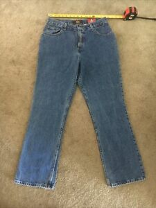 Women's ROUTE 66 Classic Fit Mid-Rise Boot Cut Jeans Size 13/14 NEW