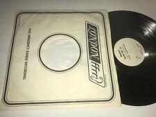 Crowfoot Record TEST PRESSING White Label Monarch Stereo WLP lp Original VG+