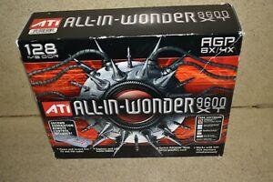 ^^ ATI ALL IN WONDER 9600 XT VIDEO CARD 128 MB - NEW (LA68)
