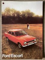 1973 Ford Escort original British sales brochure (1)
