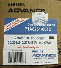 Philips Advance 71A8251-001D HPS 250W BALLAST, CAPACITOR, IGNITOR and BRACKET