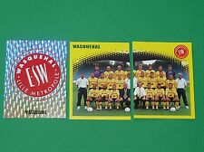 PANINI FOOT 98 ES WASQUEHAL LILLE METROPOLE COMPLET FOOTBALL SAISON 1997-1998