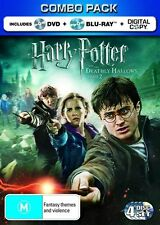 Harry Potter And The Deathly Hallows : Part 2 (Blu-ray 2011,4-Disc Set) region B