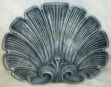 Shell Frieze Wall Sculpture Home Plaque Art Decor