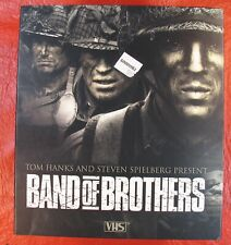 Band Of Brothers Box Set Vhs Vcr Video Tape Movie Tom Hanks Used