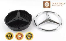 Mercedes-Benz C117 Tapa de arranque trasero CLA Insignia Estrella Brillante Negro A1178170016 Nuevo