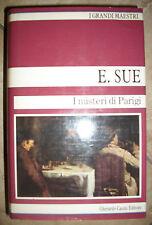 GRANDE MAESTRI -E.SUE -I MISTERI DI PARIGI 1 I PRIMO VOL.GHERARDO CASINI 1987 RM