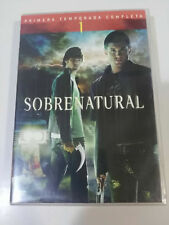 SUPERNATURAL SEASON 1 COMPLETE - **BRAND NEW** SPANISH ENGLISH 6 DVD + EXTRAS