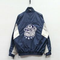 Vintage Georgetown Hoyas Chalk Line Windbreaker Light Jacket Size Large 90s NCAA
