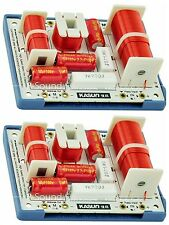 2pcs KASUN MK-400C 180W HiFi Speaker Frequency Divider Crossover Filter 4unit 4w