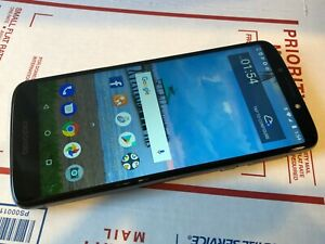 Motorola Moto E5 - XT1920DL - 16GB - Black (TracFone) Great Condition - Works