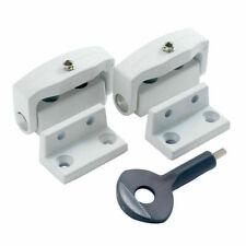 Yale P113 Toggle Window Lock locks White key operated x 2 (P-2P113-WE-2)