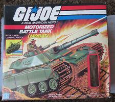 GI Joe Cobra Motorized battle tank with swivel arm steeler 1983