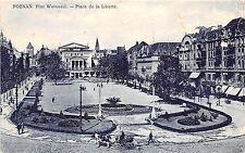 B86611 Posen  poznan plac wolnosci place de la liberte  poland
