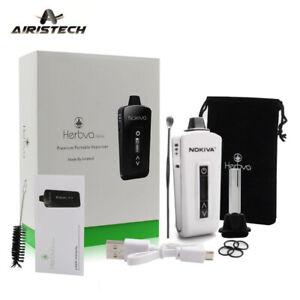 Dry Herbal Vaporizer Nokiva by Airistech, 2200mAh Battery, Ceramic Chamber White