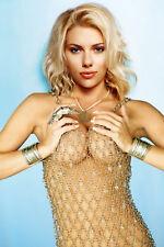 GLOSSY PHOTO PICTURE 8x10 Scarlett Johansson Sexy Blonde Golden