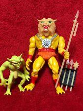 Galoob Blackstar Tongo The Leopard Man Action Figure w/Demon 1983