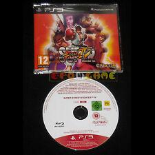SUPER STREET FIGHTER IV 4 PS3 Versione Promo Europea gioco completo ••••• USATO