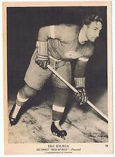 1939-40 O-Pee-Chee V301-1 Hec Kilrea # 71 Detroit Red Wings (5 x 7 card) Ex+