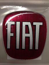 Stemma logo adesivo anteriore cofano posteriore baule piantone ricambio FIAT
