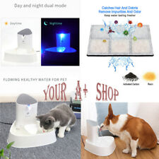1.8 L Automatic Electric Pet Dog Cat Water Fountain Drinking Bowl Feed Dispenser