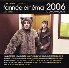 CD : L'année cinéma 2006 (compilation Inrockuptibles) comme neuf (as new)