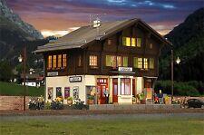 Kibri 39497 -- Bahnhof Litzirüti inkl. Hausbeleuchtung, Spur H0