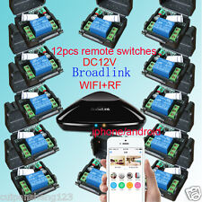 12 Receiver+Broadlink RM Pro,Mobile phone APP Smart Home Controller WIFI+RF