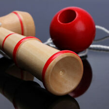 Kid Kendama Ball Japanese Traditional Wood Game Balance Skill Educational Toy HY
