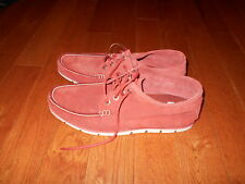 Timberland Suede SHOES Lace Up NEW Oxford Boat NWOB Men's Size 12 Sensorflex