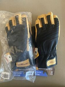 Lot of (2) Pairs CARHARTT WINTER DEX II INSULATED WORK GLOVES A676 Med