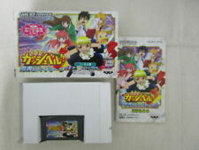 Nintendo Konjiki no Gash Bell!! Makai Bookmark GBA jeu game japon japan