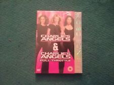 charlies angels and charlies angels full throttle dvd new freepost