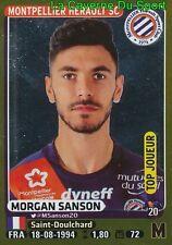 271 MORGAN SANSON # TOP JOUEUR MONTPELLIER.HSC STICKER PANINI FOOT 2016
