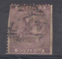 GB QV 1862 6d Watermark Inverted SG85 wi Used X8646