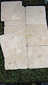 travertine tiles ( lighter ) stone tiles