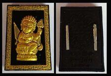 Thai Amulet Charming Phra Siwalee Setthi Ngoen Lan Black - Gold By Kruba Porn 61