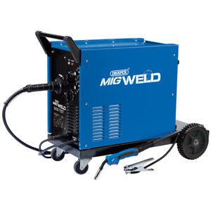 Draper 71092 230/400V Gas Gasless Turbo MIG Welder 180A Welding Unit MW190T