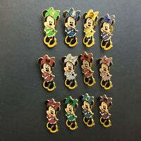 Birthstone Minnie Mouse - Complete set of 12 Pins all 12 Months Disney Pin 3364
