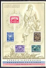 10907 Czechoslovakia,1945,Unused souvenir sheet Nr:7