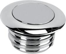 Productos Drag Specialties color cromo para la toma de aire y la distribución de combustilbe para motos