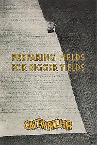 Caterpillar Preparing Fields Book 1930 Caterpillar Ten to Sixty, Best Holt