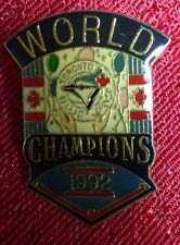 Toronto Blue Jays 1992 MLB World Series Champions pin