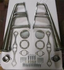 Vintage Retro Chevy 283 305 327 350 400 Stainless Lakester Headers Hot Rat Rod