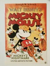 carte postale postcard Mickey Mouse   Walt Disney's